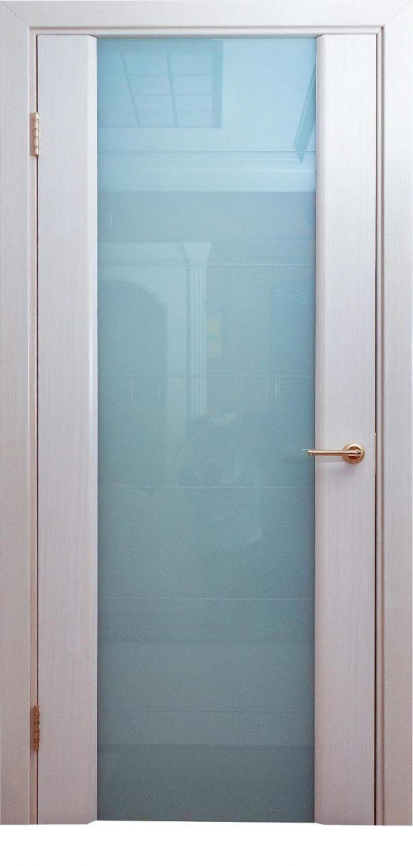 Варадор Палермо дуб беленый Дверь со стеклом