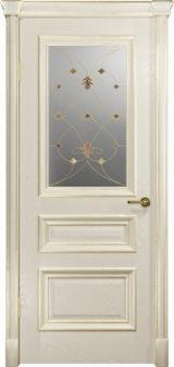 Аттика 2-1 аква, дверь со стеклом