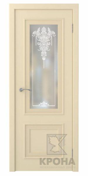 Премьер-2 слоновая кость, дверь со стеклом